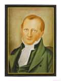 Johann Ludwig Tieck German Writer Giclee Print by J.d. Oechs