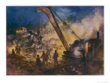 Accidents Will Happen in Spite of the Most Elaborate Precautions Giclee Print by E.p. Kinsella