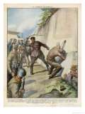 Republican Suspected of Treachery is Flogged Giclee Print by Vittorio Pisani