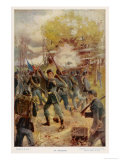 Battle of Antietam Giclee Print by E. Jahn