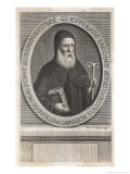 Cyril Lucaris Greek Patriarch of Istanbul Giclee Print by Michael van der Gucht