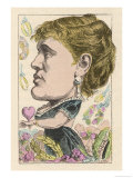 Gabrielle Krauss, Austrian Operatic Soprano Giclee Print by  Moloch