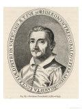 Girolamo Frescobaldi Italian Musician Giclee Print by F.i. Sallanis