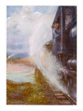 Skeens River Canada Giclee Print by E.p. Kinsella