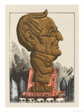 Louis-Adolphe Thiers French Statesman and Historian Giclee Print by  Moloch