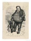 William Marcy Tweed Known as Boss Tweed American Politician and Swindler Giclee Print by Thomas Nast