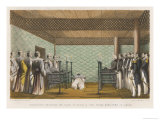 Lord Elgin&#39;s Diplomatic Mission to Japan Giclee Print by Hanhart 