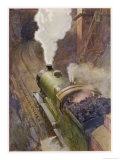 Great Central Express Giclee Print by H.r. Millar