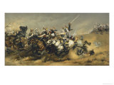 Battle of Vionville-Mars-La- Tour Also Known as Rezonville Giclee Print by Aimé Nicolas Morot