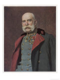Franz Joseph Austrian Emperor in Old Age Giclee Print by Leopold Horowitz
