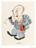 Little Tich (Harry Relph) Music Hall Entertainer Giclee Print by Elizabeth Pyke