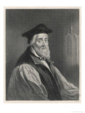Nicholas Ridley Martyred Bishop Giclee Print by William Holl the Younger