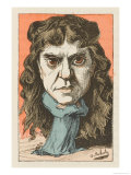 Marie Laurent, French Actress Model for Manets Painting Autumn Giclee Print by  Moloch