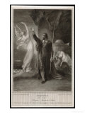 The Tempest, Act I, Scene II: Whilst Miranda Sleeps Prospero Confers with Ariel Giclee Print by Frederick Burr Opper