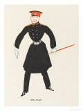 Vesta Tilley Music Hall Entertainer Best Known for Her Male Impersonations Giclee Print by Elizabeth Pyke