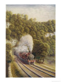 Midland Scotch Express Giclee Print by M. Secretan