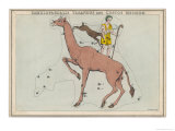 Constellaton Showing Camelopardalis Giclee Print by Sidney Hall