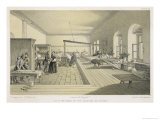 Florence Nightingale in the Hospital at Scutari on a Day When Casualties were Unusually Light Giclee Print by W. Simpson