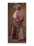 Taming of the Shrew, Edward H. Sothern as Petruchio Giclee Print by Orlando Rouland