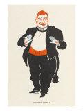 Herbert Campbell Music Hall Entertainer Giclee Print by Elizabeth Pyke