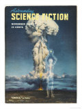 An Article in This Popular Magazine Questions Whether Nuclear Power is a Threat or Holds Promise Giclee Print by Pattee