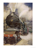 French Nord Express Premium Giclee Print by H.r. Millar