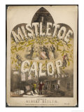 Mistletoe Galop Giclee Print by Albert Keller