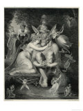 A Midsummer Night&#39;s Dream, Titania and Bottom Giclee Print by Rhodes 