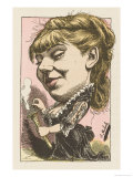 Sophie Croizette Russian-Born French Actress Giclee Print by  Moloch