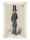 Edward Bulwer Lytton Writer Dramatist and Politician Giclee Print by Carlo Pellegrini
