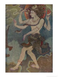 Shiva as Nataraja Giclee Print by Khitindra Nath Mazumdar