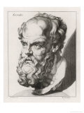 Socrates Greek Philosopher Premium Giclee Print by Johan H. Lips