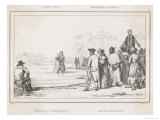 Anabaptists an Anabaptist Baptism in the United States Giclee Print by Langlois 