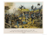 Storming of Der Duppeler Schanzen by the Prussians Giclee Print by R Knoetel