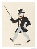 Charlie Coborn (Colin Whitton Mccallum) Music Hall Entertainer Giclee Print by Elizabeth Pyke