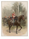 6th (Enniskillen) Dragoons Giclee Print by Charles Green