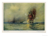 The Sinking of a Frigate Giclee Print by E. Packbauer
