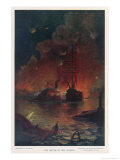 The Battle of New Orleans the City Surrendered Giclee Print by E. Packbauer