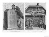 Edison&#39;s Kinetoscope Giclee Print by Poyet 