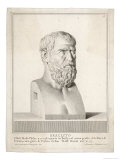 Heraclitus Greek Philosopher: Portrait Bust Giclee Print by  Silvestro