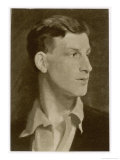 Siegfried Sassoon English Writer of Poetry and Prose Giclee Print by Glyn Philpot