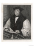 Matthew Parker Archbishop of Canterbury Giclee Print by William Holl the Younger