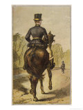 London Characters Giclee Print by H.w. Petherick