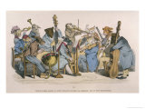 Musicians Satirised by Being Represented as Animals Giclee Print by J.J. Grandville