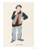 Albert Chevalier Music Hall Entertainer Giclee Print by Elizabeth Pyke