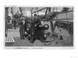 "The Confederate War-Steamer ""Alabama,"" Captain Semmes Secretary Giclee Print by  Jackson"