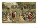 French Aristocrats of the Mid-17th Century Giclee Print by Nordmann