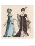 Dresses of 1805 Giclee Print by Knilling