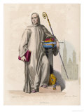 Abbot Suger, French Divine Historian, Abbot of Saint-Denis, Giclee Print
