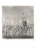 James Graham Famous Scottish Quack Doctor Delivers a Lecture to an Audience Giclee Print by John Kay